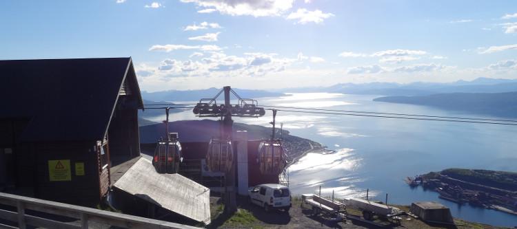Narvik: Seilbahn & Fjord