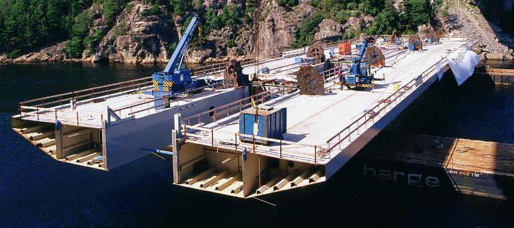 Neue Svinesundbrücke zwischen Schweden und Norwegen