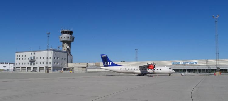 Bodø: Flughafen