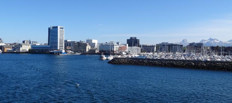 Bodö - Hafen am Vestfjord