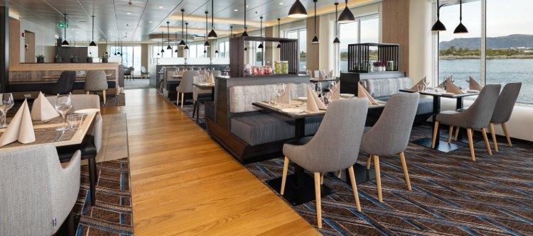 Hurtigruten: Schiff an Board